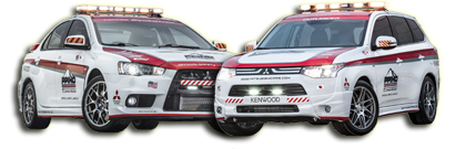 Mitsubishi Lancer Safety Car